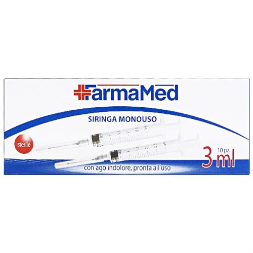 SIRINGA 3 ML. 10 PZ. FARMAMED                            05289