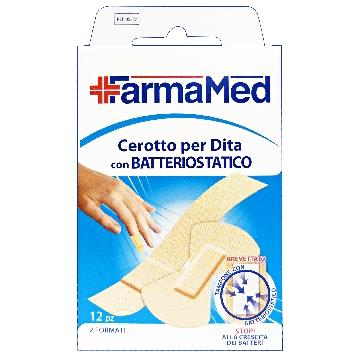 CEROTTI DITA BATTERIOSTATICO 2 FORM. *12 PZ. FARMAMED 05327