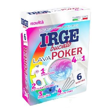 IRGE ACCHIAPPACOLORE POKER 4in1 6 BUSTE