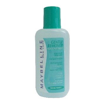 MAYBELLINE ACETONE GENTLE REMOVER 125 ML.