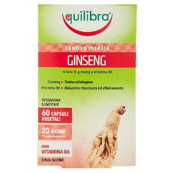 EQUILIBRA GINSENG VEGICAPS 60 CAPS                       GNS