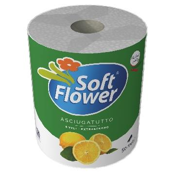 SOFT FLOWER 1 ASCIUGONE MEGA LIMONE 50 MT.              AS50