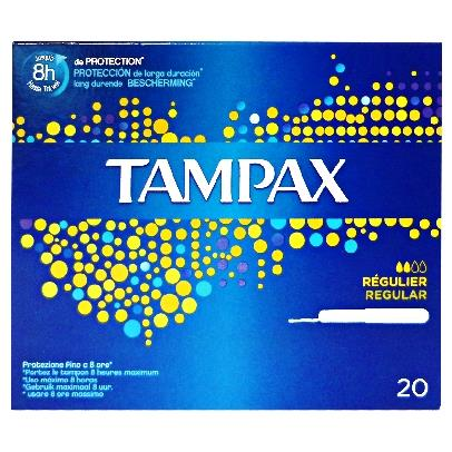 TAMPAX REGULAR 20 PZ. TAMPONI INTERNI