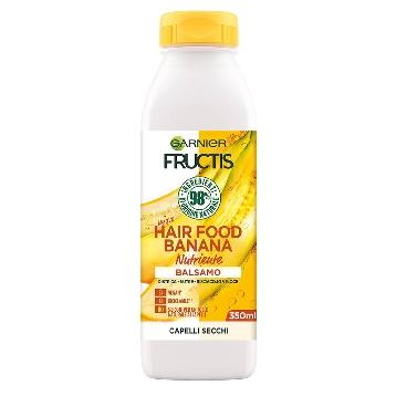 FRUCTIS BALSAMO  HAIR FOOD  350 ML. BANANA NUTRIENTE
