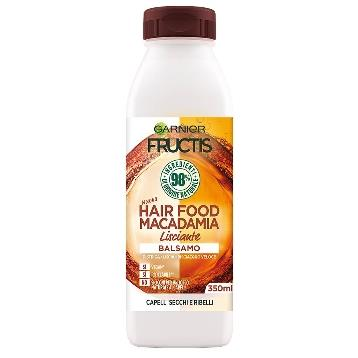 FRUCTIS BALSAMO  HAIR FOOD  350 ML. MACADAMIA LISCIANTE