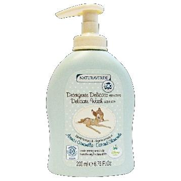 NATURAVERDE BIO DISNEY DETERGENTE VISO&CORPO 200 ML.