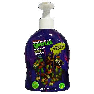 NINJA TURTLES SAP. LIQ. 250 ML.