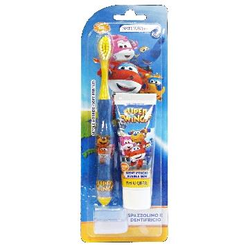 SUPER WINGS BABY SPAZZOLINO + DENTIFRICO