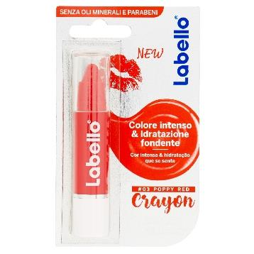 LABELLO BURROCACAO LE CRAYON COLORATO POPPY RED        85131