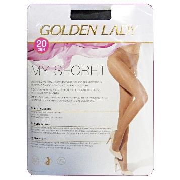 MYSECRET COLLANT 20 DEN NERO TG. XL 24L