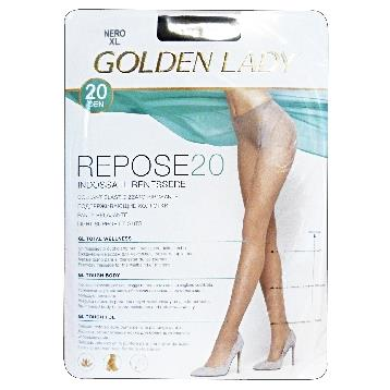 REPOSE COLLANT 20 DEN NERO TG. XL 36F