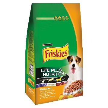 FRISKIES CANE SACCO 1,5 KG. MINI MENU POLLO / VERDURE
