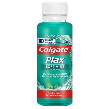 COLGATE PLAX COLLUTTORIO 100 ML. SOFT MINT MINITAGLIA