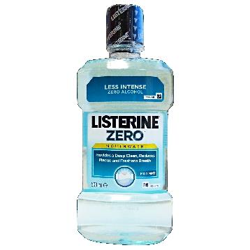 LISTERINE COLLUTTORIO 500 ML. COOL MINT ZERO ALCOL AZZURRO