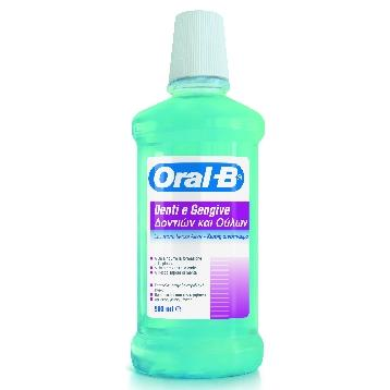 ORAL-B COLLUTTORIO DENTI E GENGIVE 500 ML.