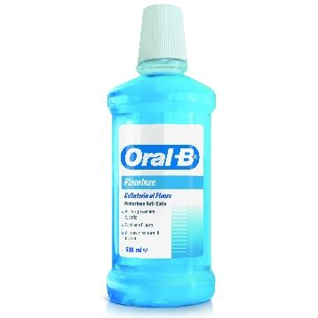 ORAL-B COLLUTTORIO FLUORINSE 500 ML.