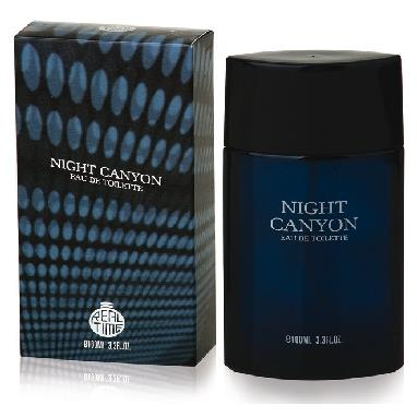 REAL TIME EDT UOMO 100 ML. NIGHT CANYON-ARMANI CODE MAN