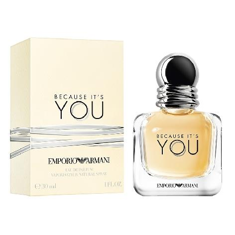 ARMANI BECAUSE IT'S YOU EDP DONNA 30 ML.