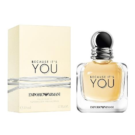 ARMANI BECAUSE IT'S YOU EDP DONNA 50 ML.
