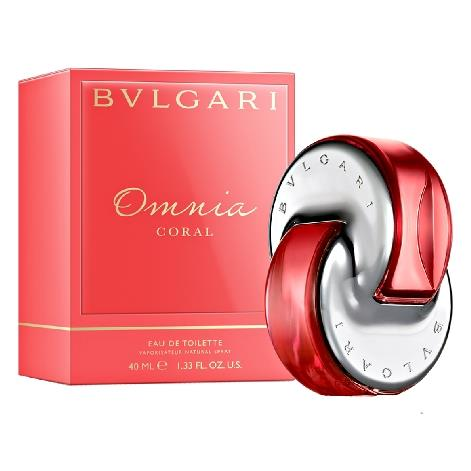 BULGARI OMNIA CORAL EDT DONNA 40 ML