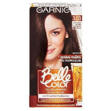 BELLE COLOR COLORANTE CAP. 3.03 CASTANO SCURO DORATO NATURALE