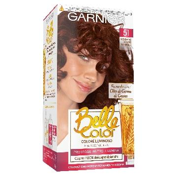 BELLE COLOR COLORANTE CAP. 51 MOGANO SCURO NATURALE