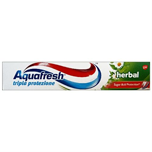 AQUAFRESH DENTIFRICIO 75 ML. HERBAL