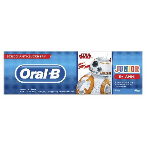 ORAL-B DENTIFRICIO JUNIOR 6-12 ANNI STAR WARS