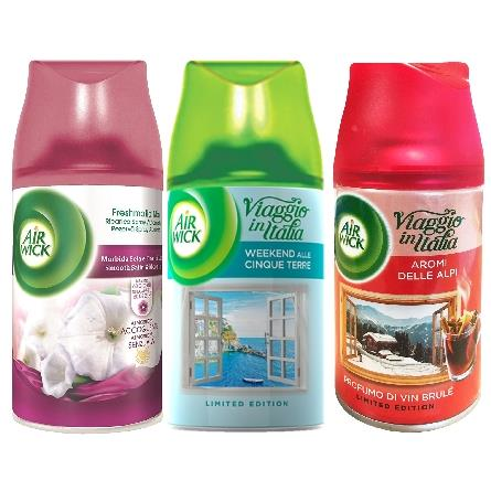 AIR WICK FRESH MATIC RICARICA 250 ML. COLLECTION 1