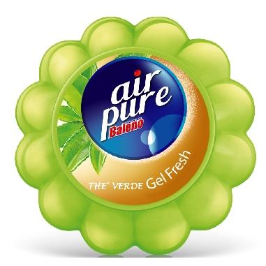 AIR PURE ASSORBIODORI GEL 150 GR. THE VERDE