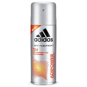 ADIDAS DEODORANTE SPRAY 150 ML. ADIPOWER