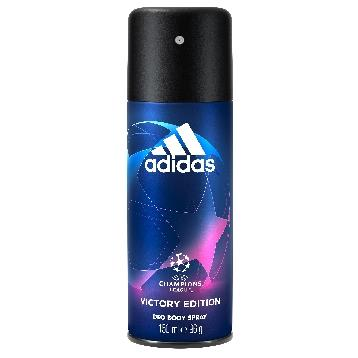 ADIDAS DEODORANTE SPRAY 150 ML. UEFA VICTORY EDITION