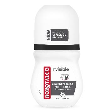 BOROTALCO DEODORANTE ROLL-ON 50 ML. INVISIBLE