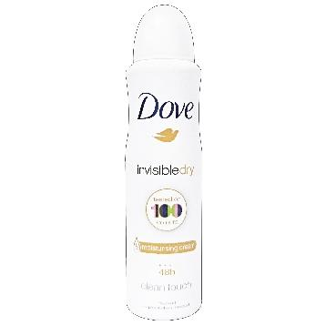 DOVE DEODORANTE SPRAY 150 ML. INVISIBLE DRY