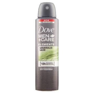 DOVE DEODORANTE SPRAY MEN 150 ML. ELEMENTS MINERALI + SALVIA