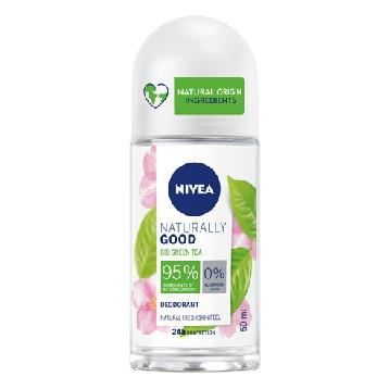 NIVEA DEODORANTE ROLL-ON 50 ML. NATURALLY GOOD  TEA    83497