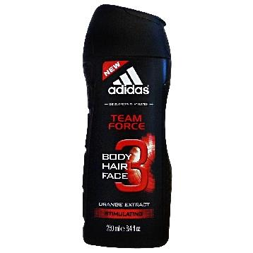 ADIDAS DOCCIA / SHAMPOO 250 ML. TEAM FORCE