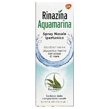 NASO SPRAY NASALE 20 ML. RAFFRED. IPERTON. AQUAMARINA RINAZINA