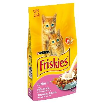 FRISKIES GATTO SACCO 1,5 KG. JUNIOR LATTE E CALCIO