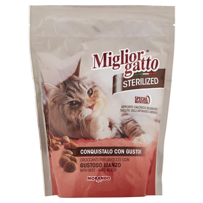 Miglior g busta 400 gr secco manzo x gatti sterilizzati for Miglior cibo per gatti