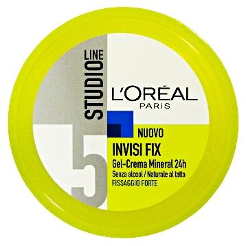 STUDIO LINE GEL VASO INVISI FIX 5 FORTE 150 ML. A7512040
