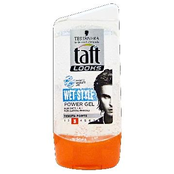 TAFT GEL TUBO 150 ML. 3 WET STYLE FORTE
