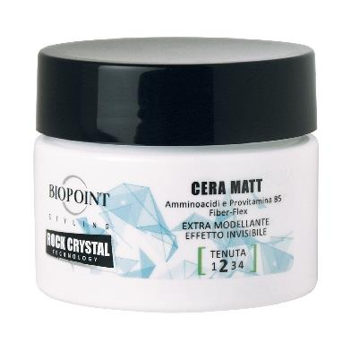 BIOPOINT CERA VASO 100 ML. ROCK CRYSTAL MATT         PV04719
