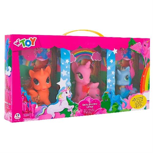 ANIMALI PONY C / ACCESSORI * 3 PZ. 37391 GLOBO