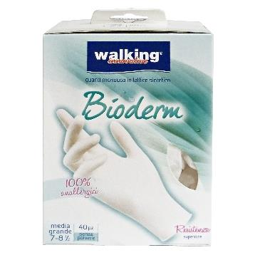 GUANTI * 40 BIODERM M / L LATTICE WALKING
