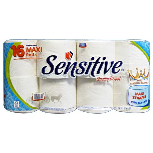 SENSITIVE 16 ROTOLONI IGIENICA MAXI