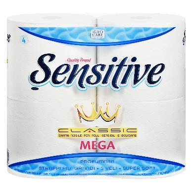 SENSITIVE 4 ROTOLONI IGIENICA MAXI