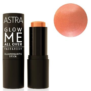 ASTRA ILLUMINANTE STICK ALL OVER GLOW ME  02 silky rose *