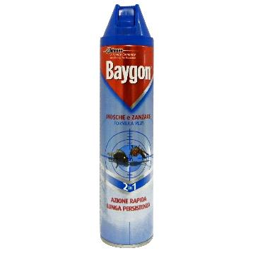 BAYGON MOSCHE / ZANZ. SPRAY 400 ML.
