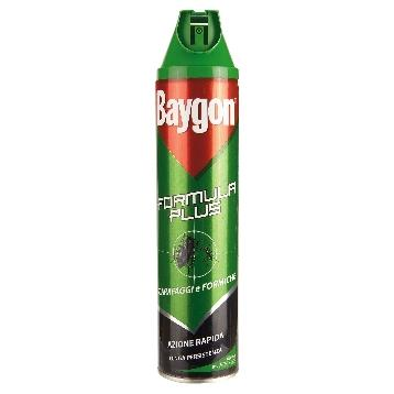 BAYGON SCAR. /FORM. SPRAY 400 ML.